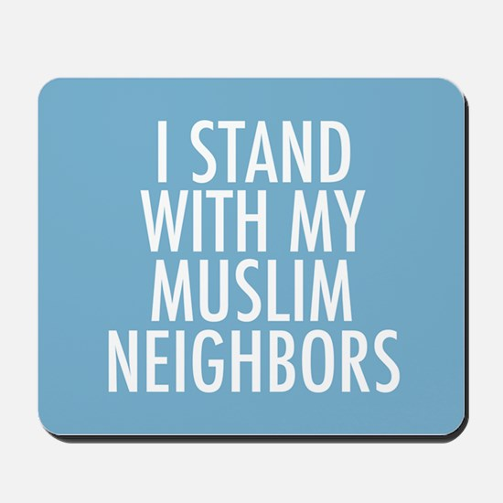 Stand with Muslims Mousepad