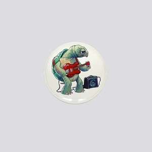 Turtle Tuning Guitar Mini Button