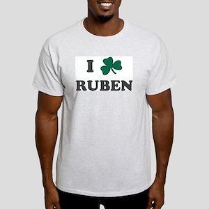 I Shamrock RUBEN Ash Grey T-Shirt