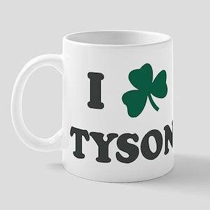 I Shamrock TYSON Mug