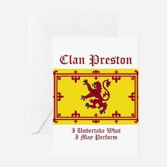 Preston Greeting Card