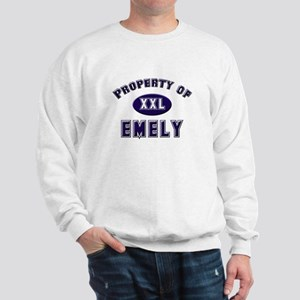 Property of emely Sweatshirt