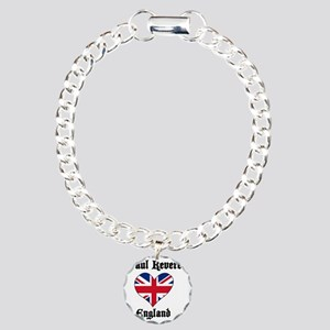 paul-revere-loves-englan Charm Bracelet, One Charm
