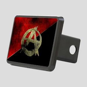anarchy-symbol-flag Rectangular Hitch Cover