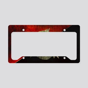 anarchy-symbol-flag License Plate Holder