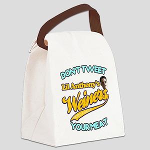 weiner2 Canvas Lunch Bag