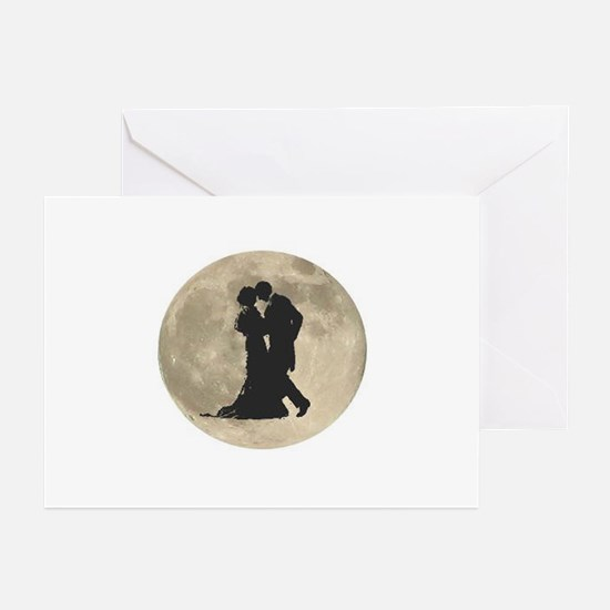 Ballroom Moon Dancers Greeting Cards (Pk of 10)