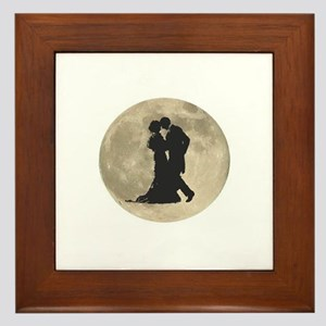 Ballroom Moon Dancers Framed Tile