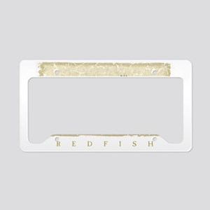Redfish License Plate Holder