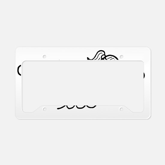 swim no words1.gif License Plate Holder