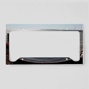 Sharps Point License Plate Holder