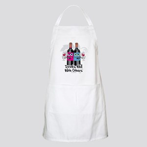 Drinks-Well-With-Others Apron