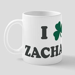 I Shamrock ZACHARY Mug