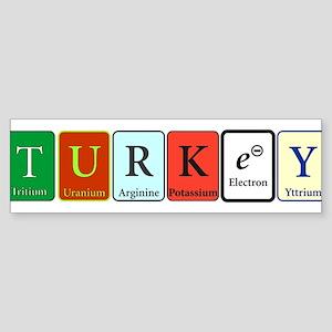 Turkey Bumper Sticker
