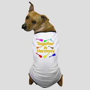 rainbow ukulele ukes Dog T-Shirt