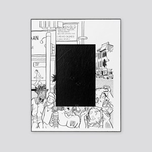 10x10_dark south_street Picture Frame