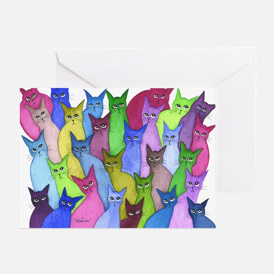 many minnesota stray cats Greeting Card