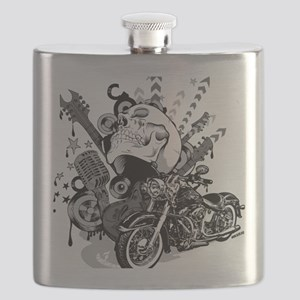 Rock the skull Flask