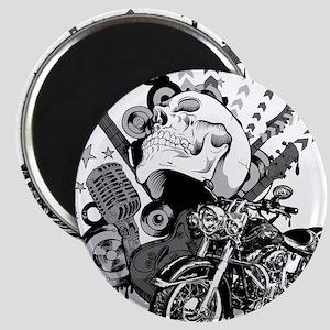 Rock the skull Magnet
