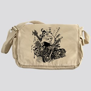 Rock the skull Messenger Bag
