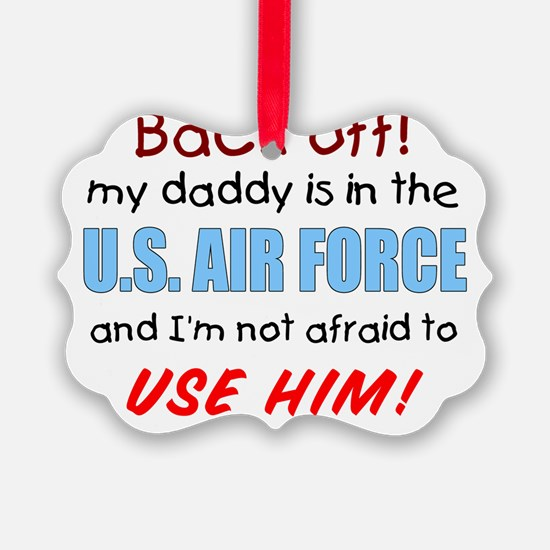 AIR FORCE DADDY Ornament