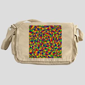 Triangle Design V Messenger Bag