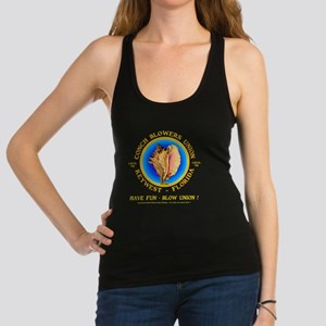 CONCH BLOWERS UNION_ Racerback Tank Top