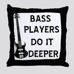 DO IT DEEPER 2 Throw Pillow