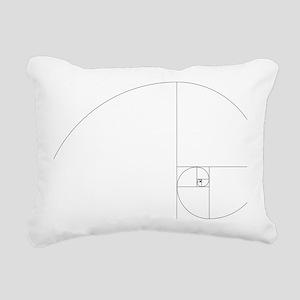 Fibonacci_spiral Rectangular Canvas Pillow