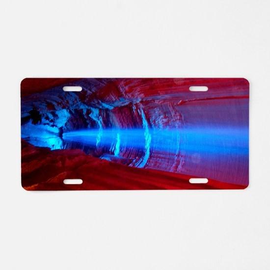 044_44 Aluminum License Plate