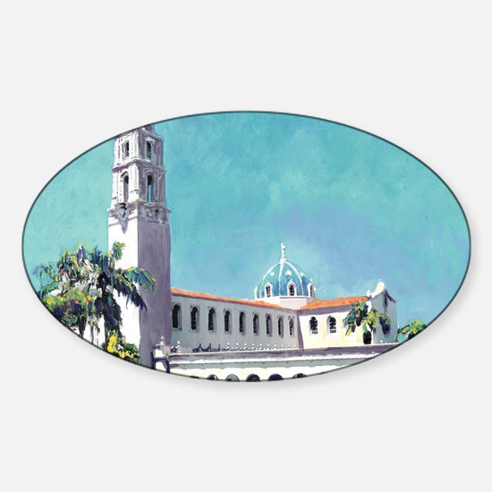 USD University San Diego 9x12 Sticker (Oval)