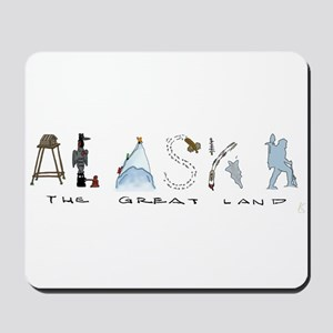 The Great Land - Color Mousepad