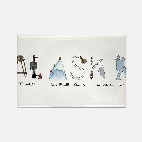 The Great Land - Color Magnets