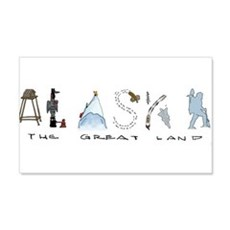 The Great Land - Color Wall Decal