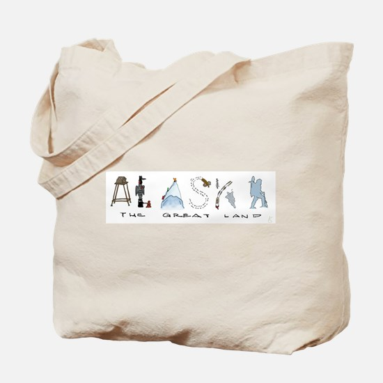 The Great Land - Color Tote Bag