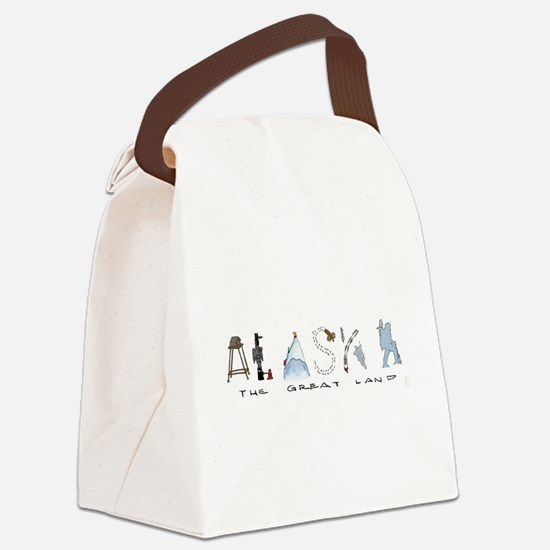 The Great Land - Color Canvas Lunch Bag