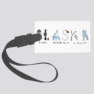 The Great Land - Color Luggage Tag