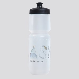 The Great Land - Color Sports Bottle