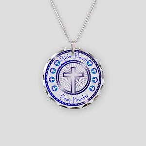 CB13 CROSS WHEEL Necklace Circle Charm