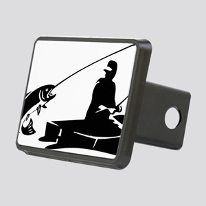 fishing2D Rectangular Hitch Cover