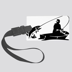 fishing2D Large Luggage Tag