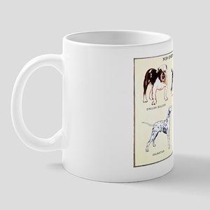Vintage Non-Sporting Dog Breeds Mug