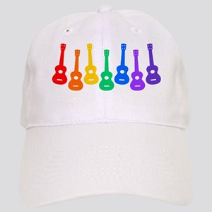 Ukulele Rainbow Cap