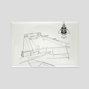 Phantom II's Tail Rectangle Magnet