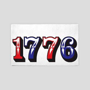 1776 dark 3'x5' Area Rug