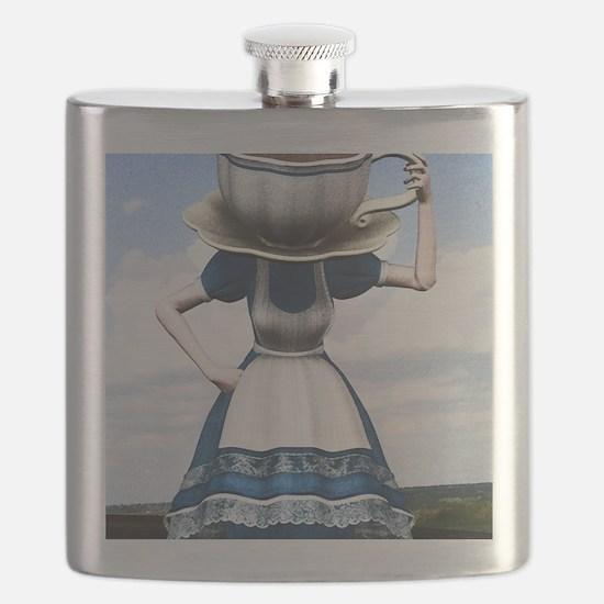 Tea With Alice Flask