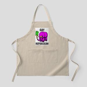 GAY REPUBLICAN BBQ Apron