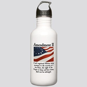 2nd amendment Stainless Water Bottle 1.0L