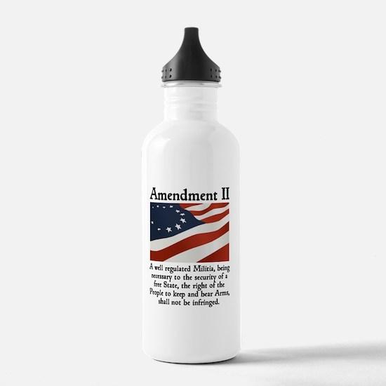 2nd amendment Water Bottle