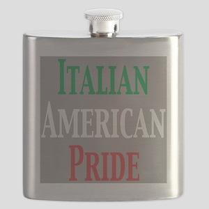 Itali Amer pride Flask